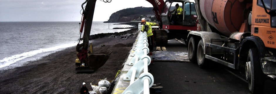 Millennium Marine Contractors Mass Concrete Placement, Heathfield, Newton Abbot, Devon