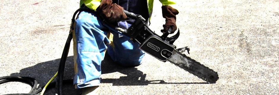 millennium marine Contractors, Diamond Chain Concrete Sawing