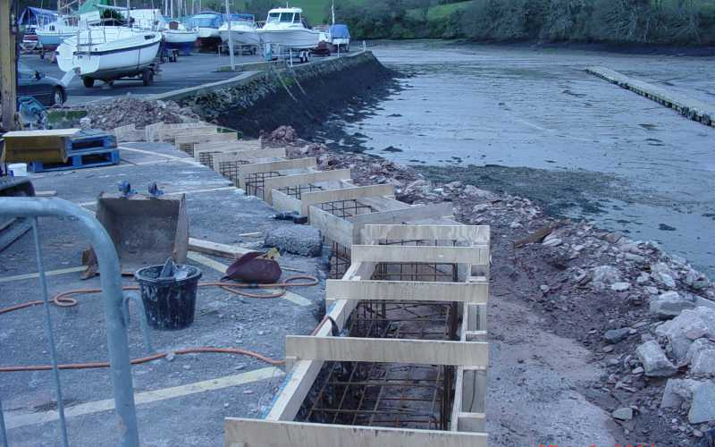 Harbour Flood Defence - Salcombe Harbour