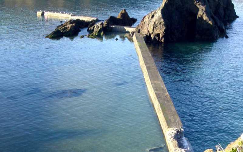Hope Cove Breakwater - Sea Wall Repairs