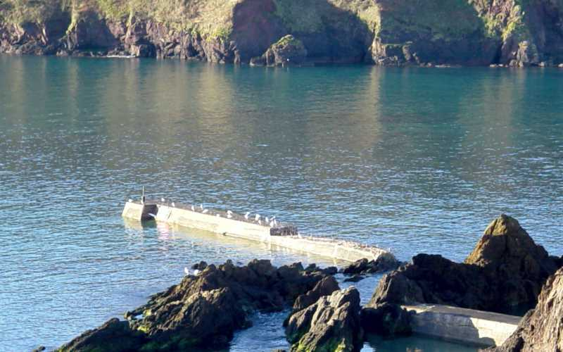 Hope Cove Breakwater - Sea Wall Repairs