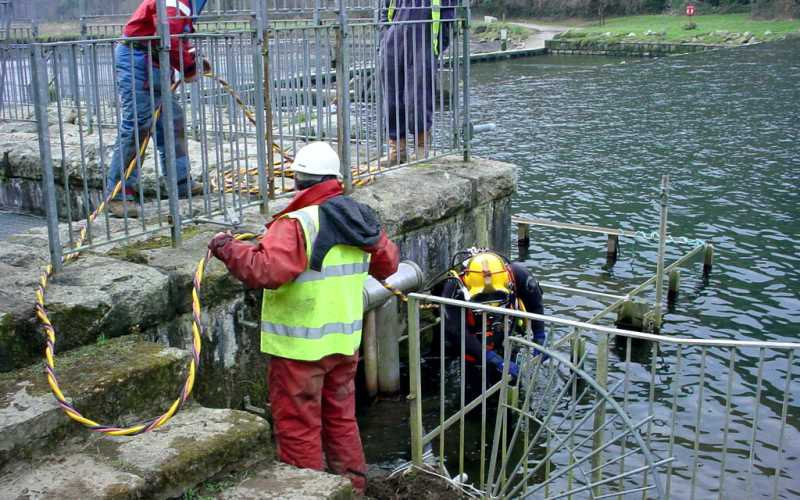 Lopwell Dam - May Gurney Utilities