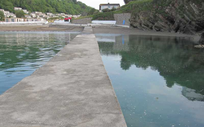 MIllendreath Jetty - Looe, Cornwall