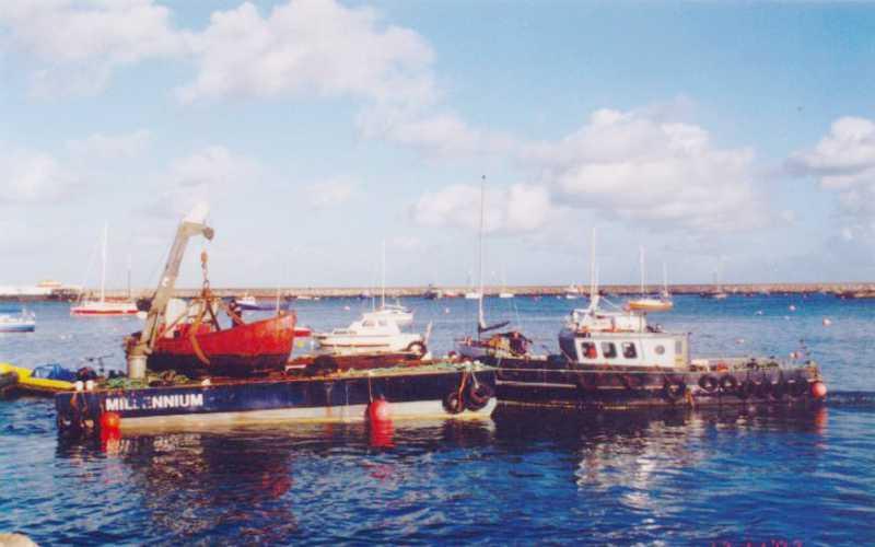 Salvage - Vessel Recovery, Brixham