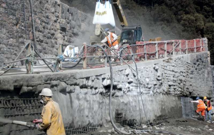 Meadfoot Seawall Repairs Phase One A by Millennium Marine Contractors